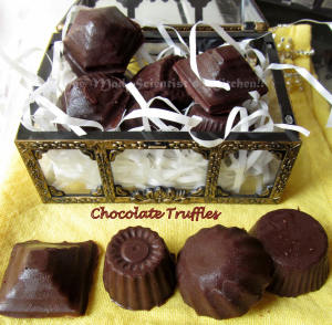 Chocolate Truffles, chocolate