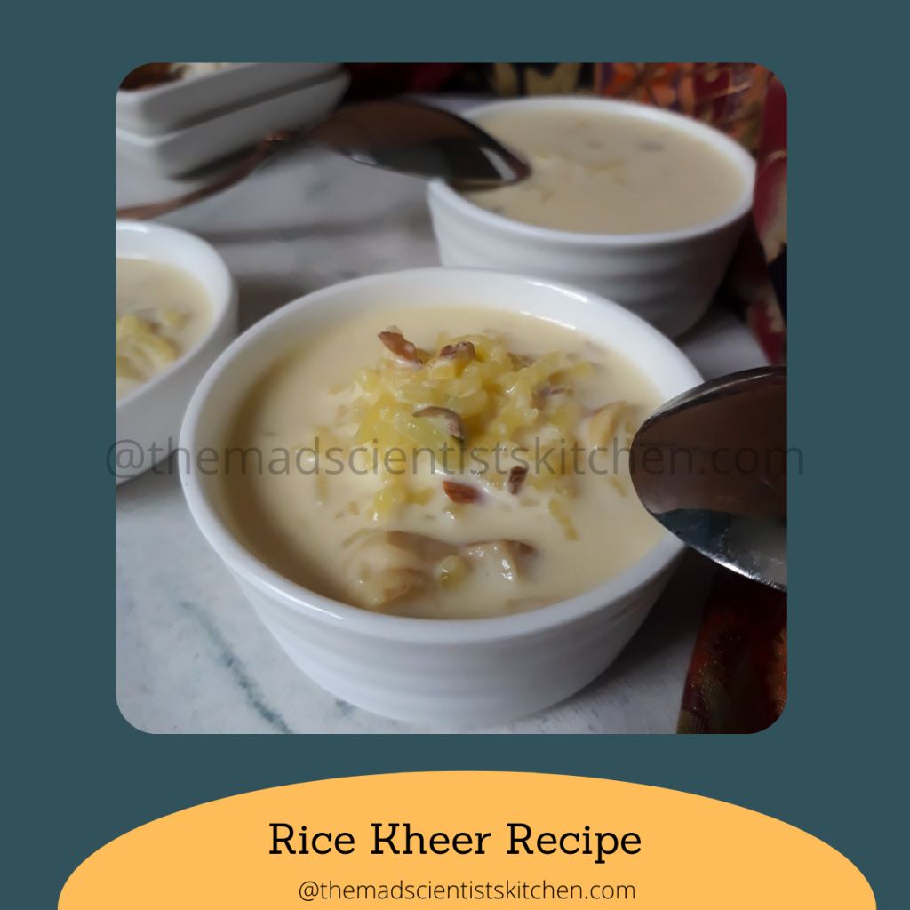 Payasam with rice will serve it with poori a flatbread