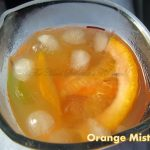 Orange Mist a Mocktail, Party drink