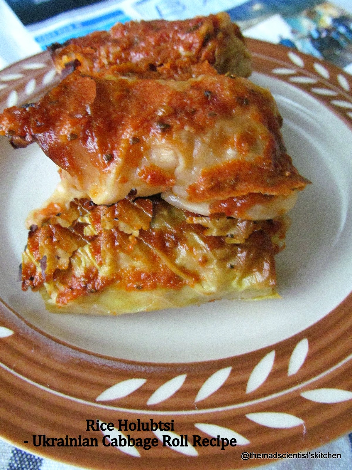 Rice Holubtsi|Ukrainian Cabbage Roll Recipe