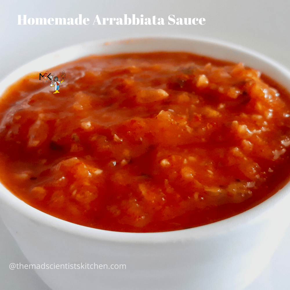 Homemade Sauce with tomatoes and basil