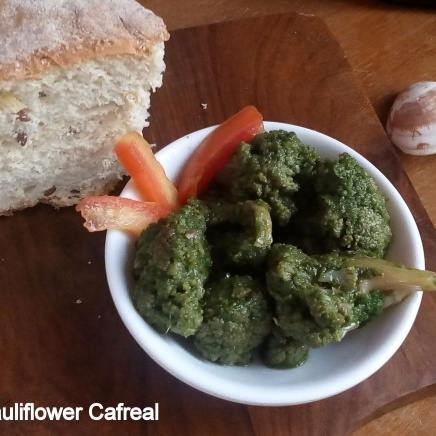 Cauliflower Cafreal, a Vegetarian take on the Famous Delicacy from Goa
