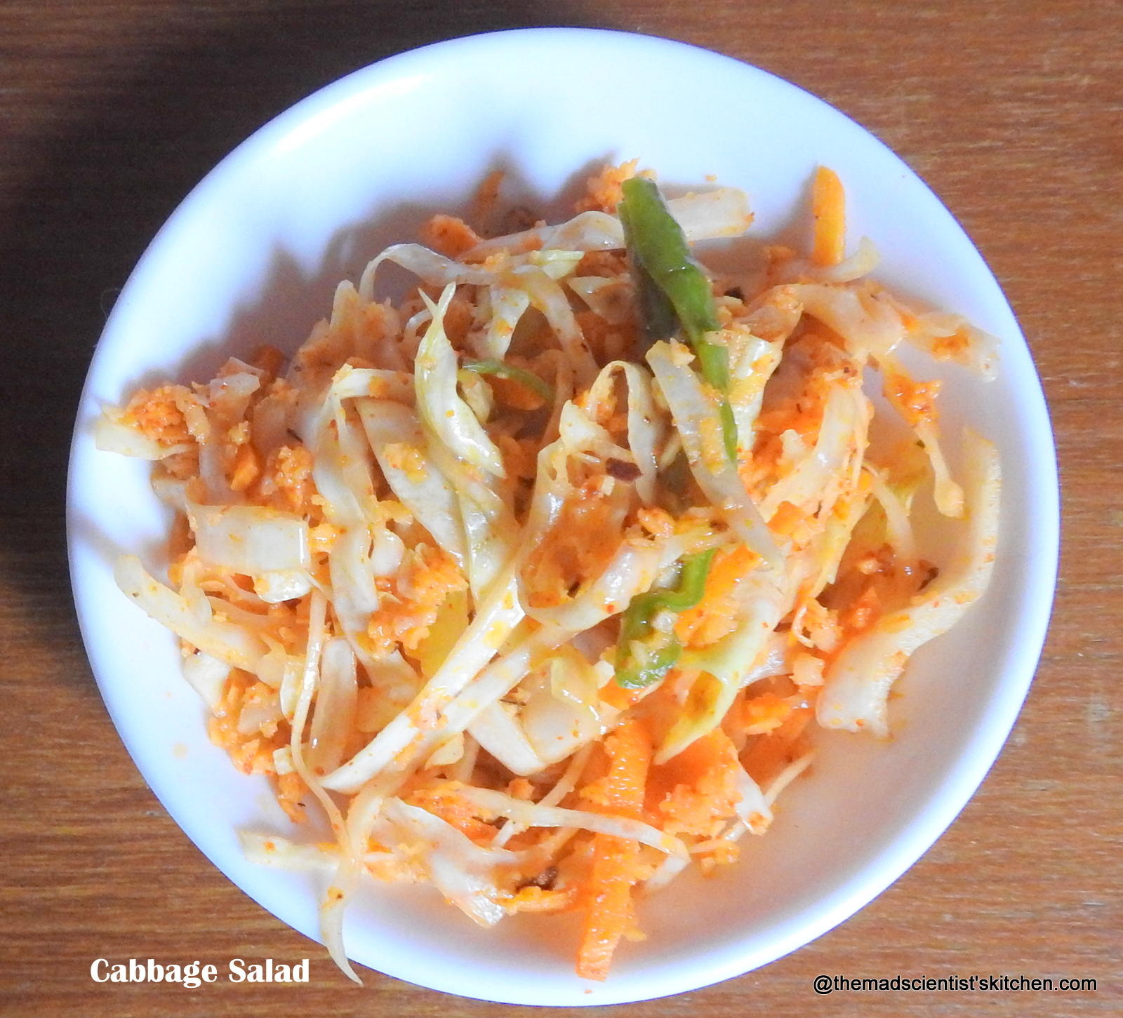 Cabbage Salad,Kobi Salad