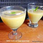 bottle gourd and ridge gourd soup