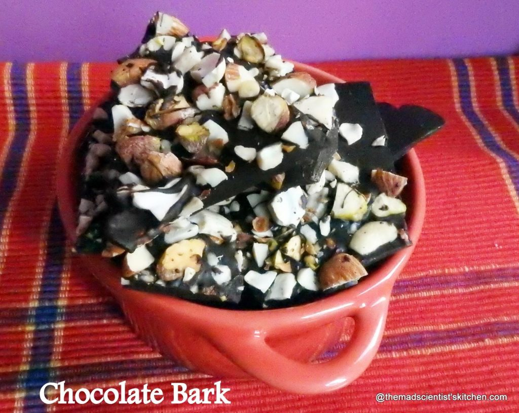 Rustic Chocolate, Chocolate with nuts and raisins
