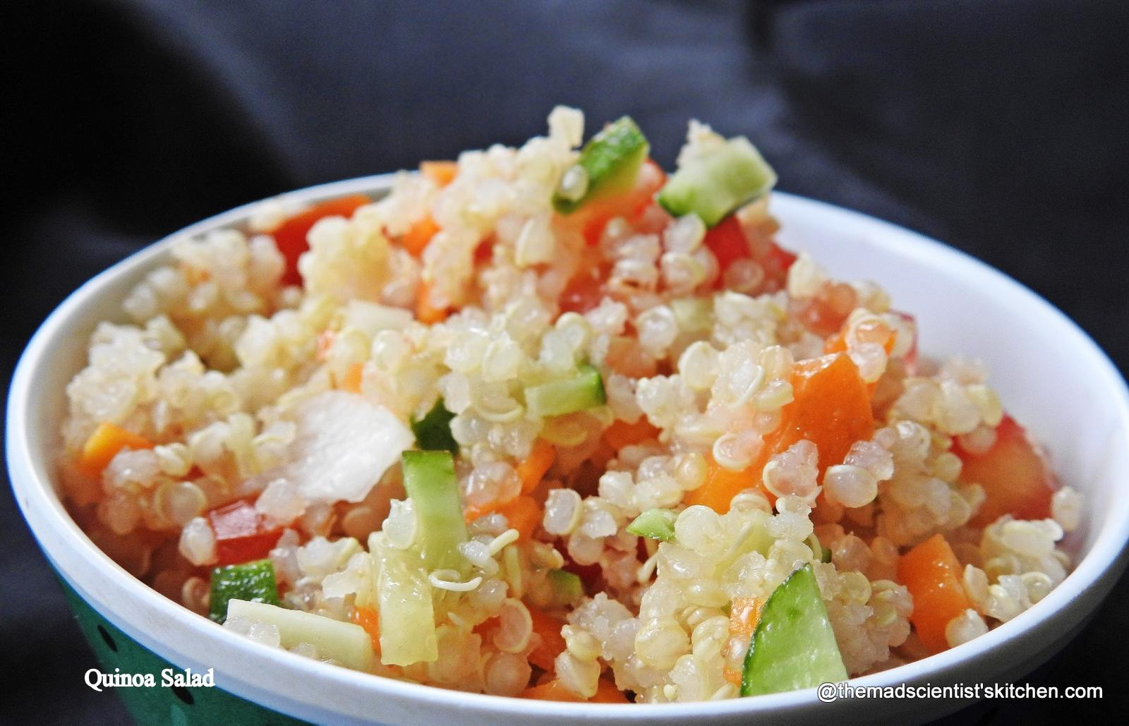 Simple but Yummy Quinoa Salad