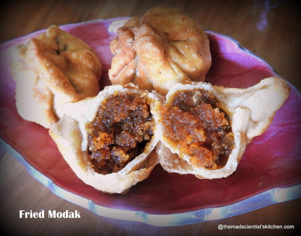 Ganapathi festival recipes,Modak with jaggery and coconut