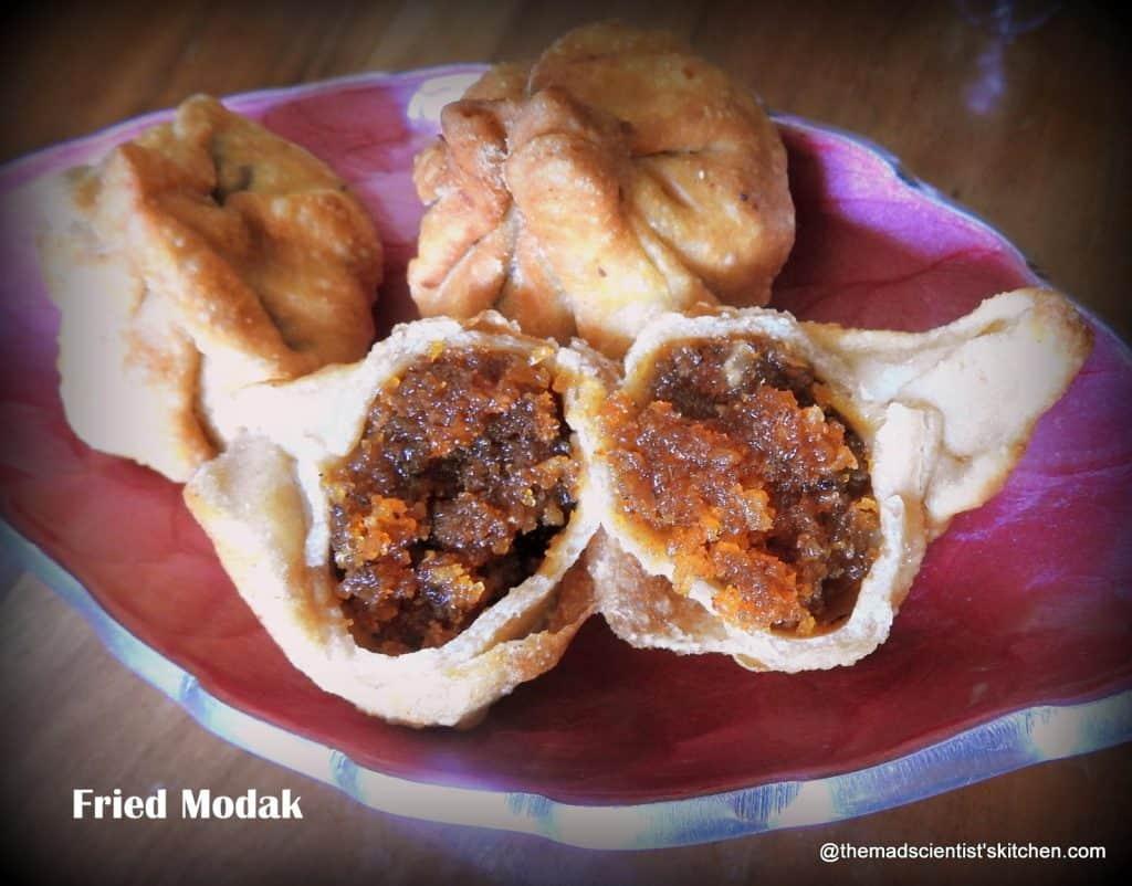 Ganapathi festival recipes,Modak with jaggery and coconut