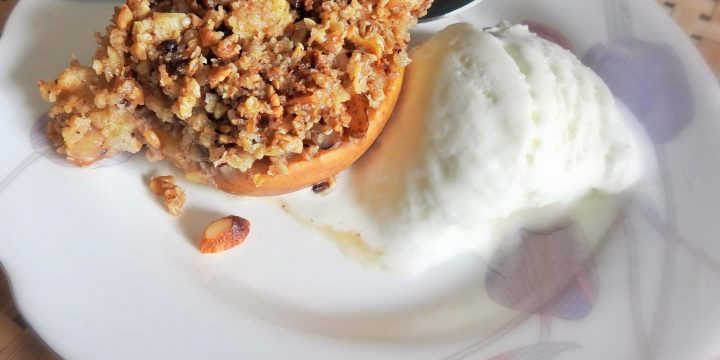 Apples, Healthy Bakes, Nuts, Oats