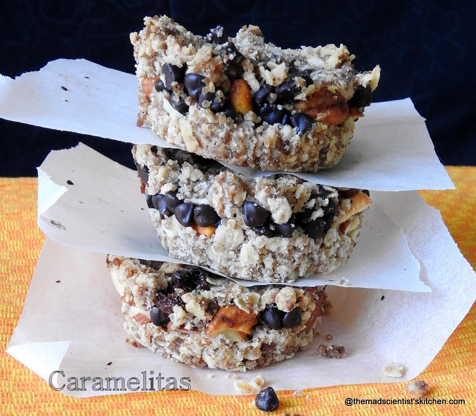Oats, Nuts,Chocolate and Dulce de leche
