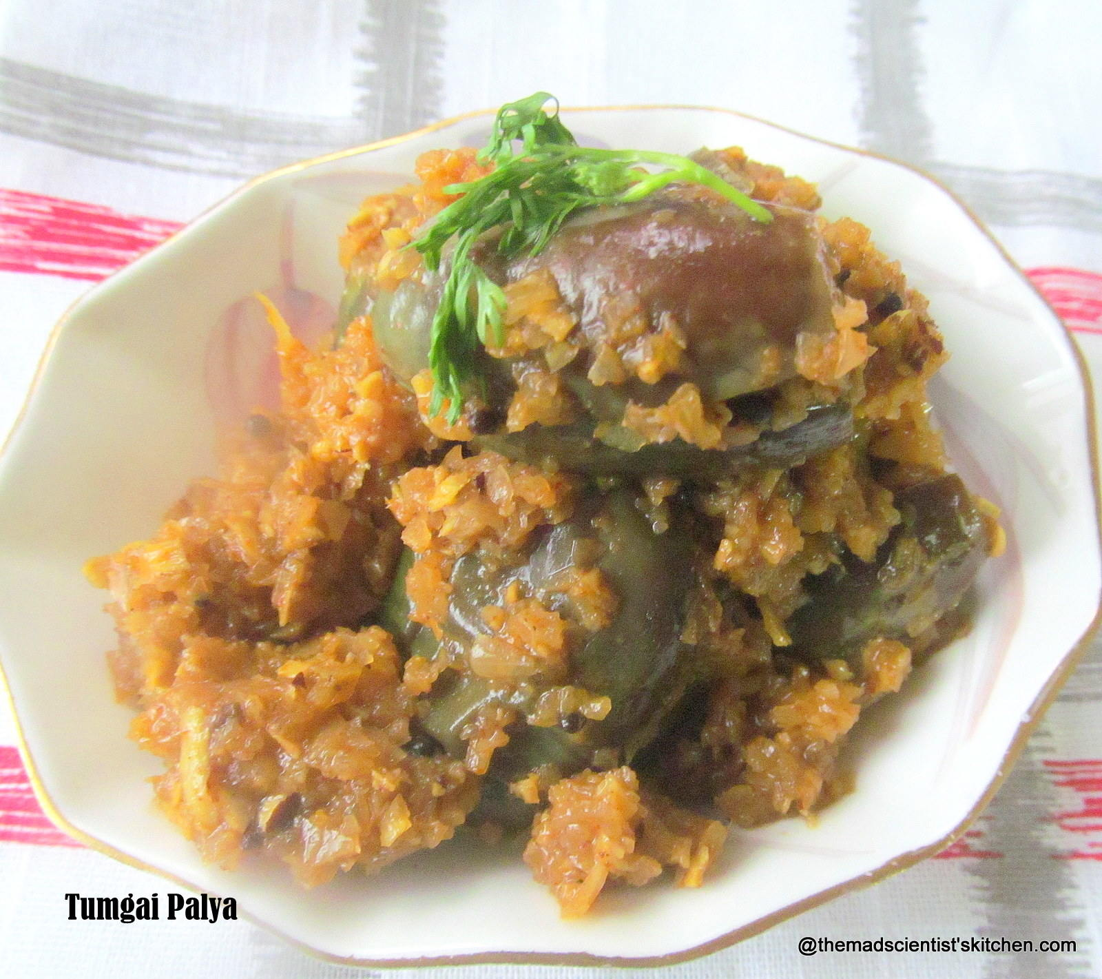Tumgai Palya,Veggies that are Fruits