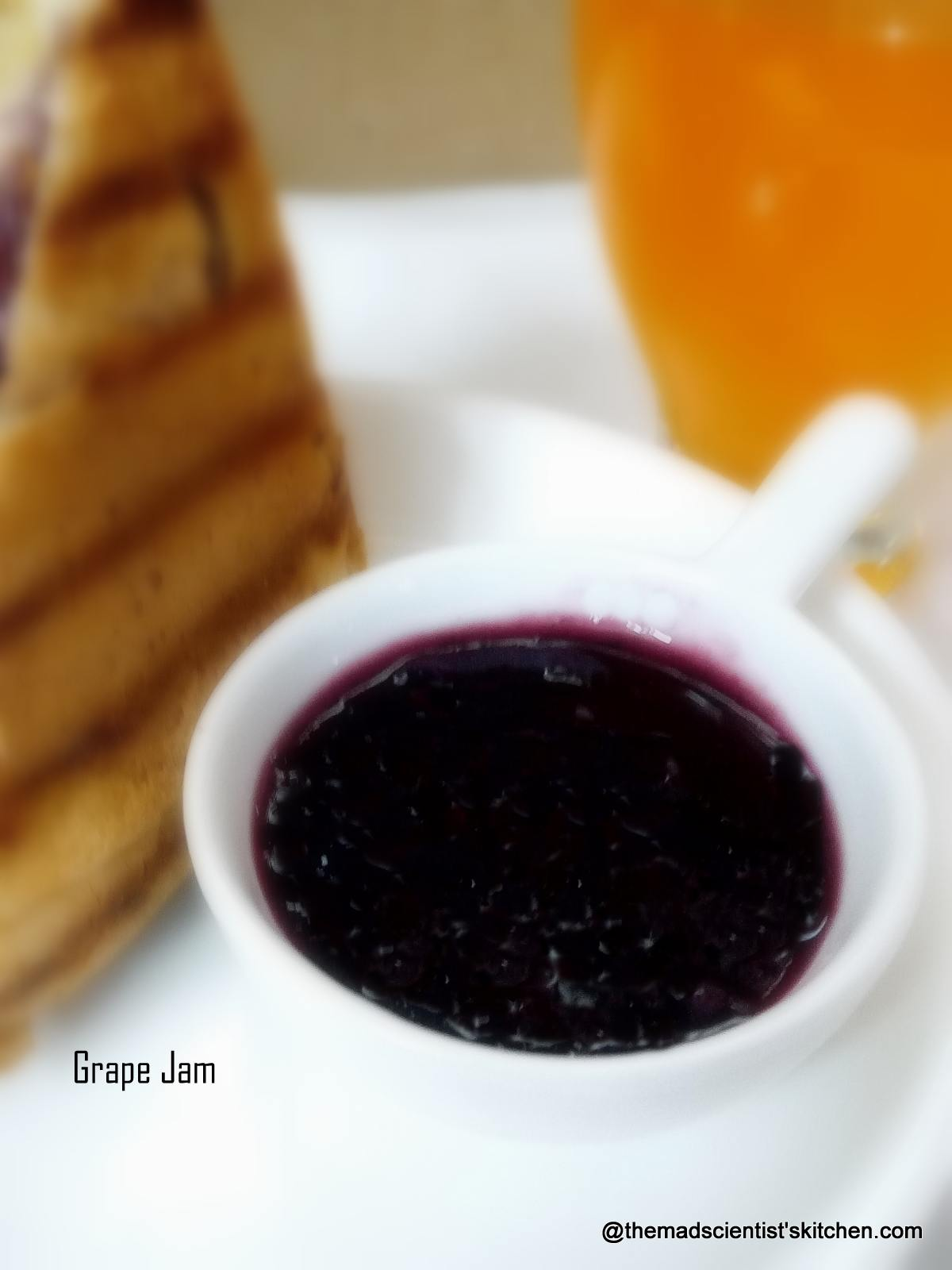 Grape Jam|Black Grapes Jam| Grape Jelly