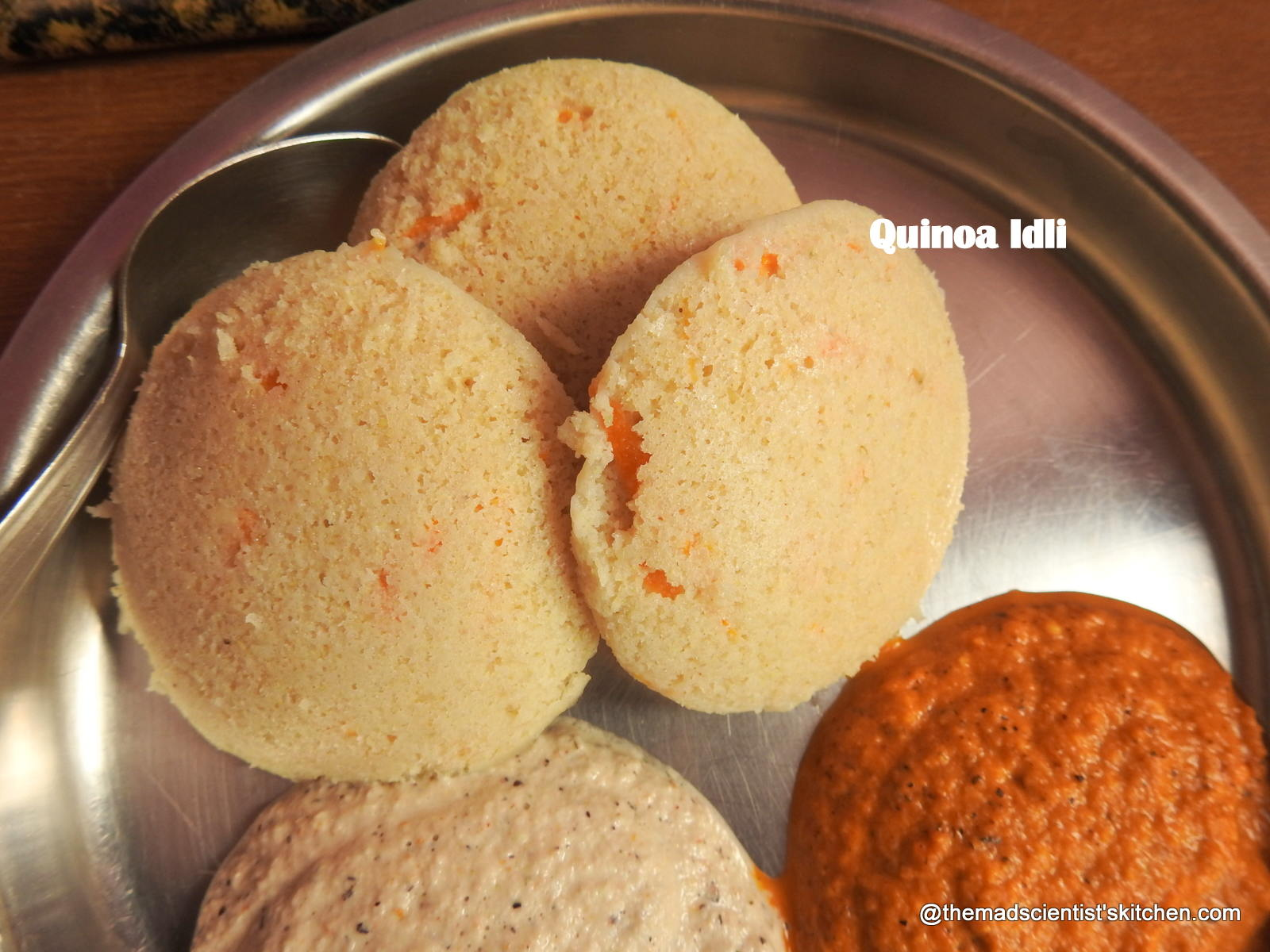 Spongy Quinoa Idli for a Healthy Breakfast