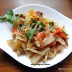 Spicy Cabbage and Potatoes, Latin American Cuisine, Bolivian Cuisine