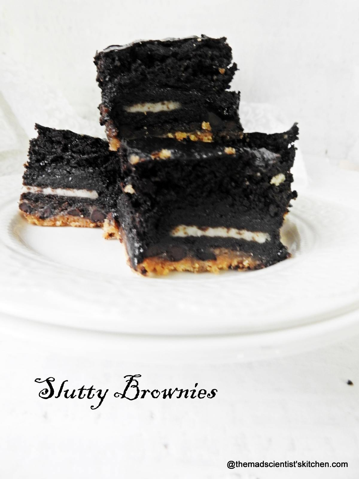Yummy Slutty Brownies