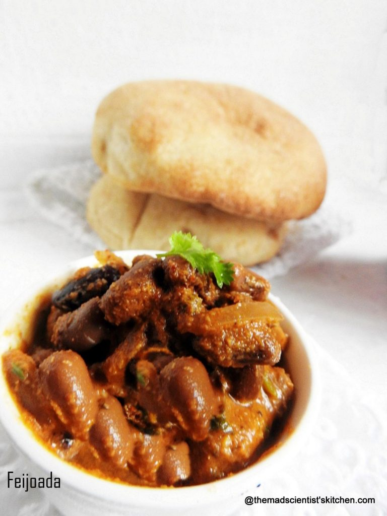 #Vegetarian #Stew with #cow chick peas and soya chunks