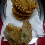 Sago Vada, Deep fried sago balls,Fasting Special