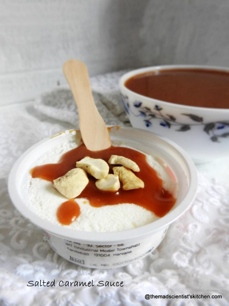 Toppings for ice cream,Salted Caramel Sauce recipe