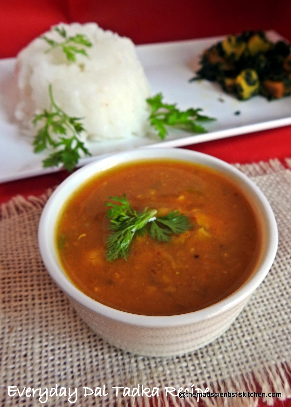 Everyday Dal Tadka Recipe