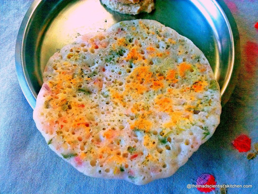Uthapam also called Uttapam or ooththappam or Uthappa