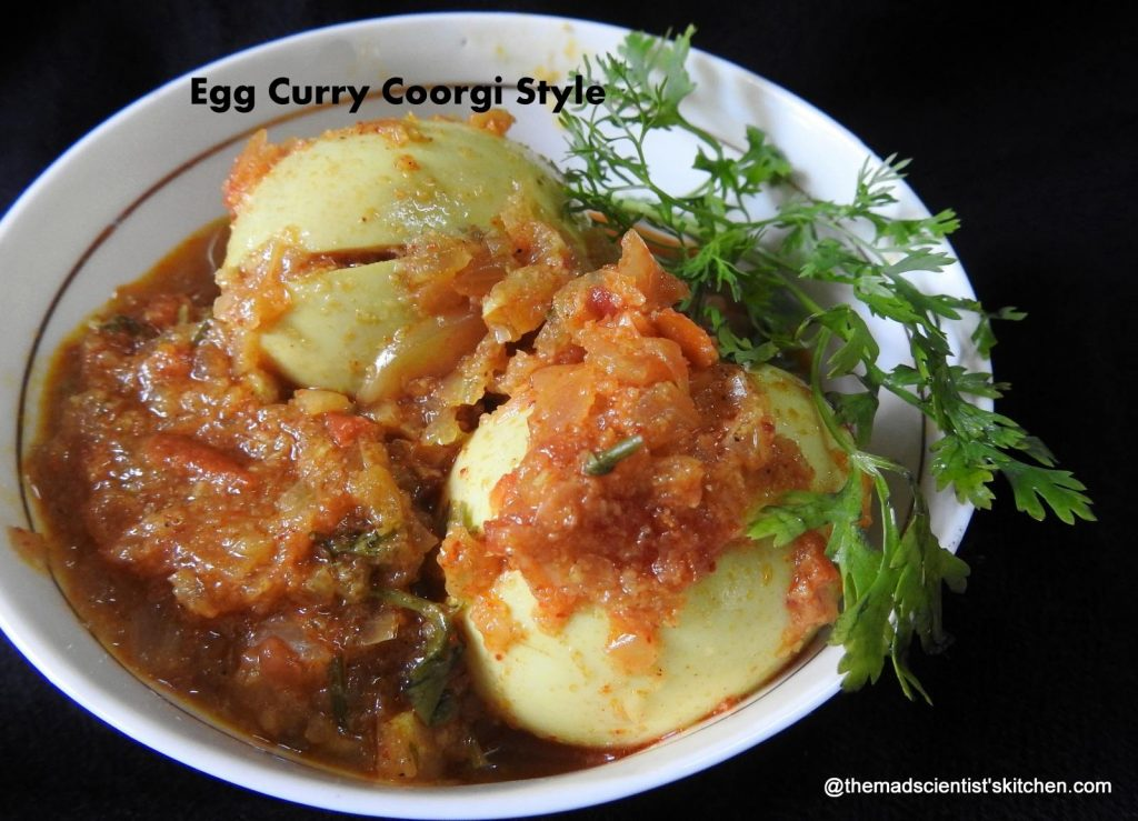 Coorgi Style Egg Curry