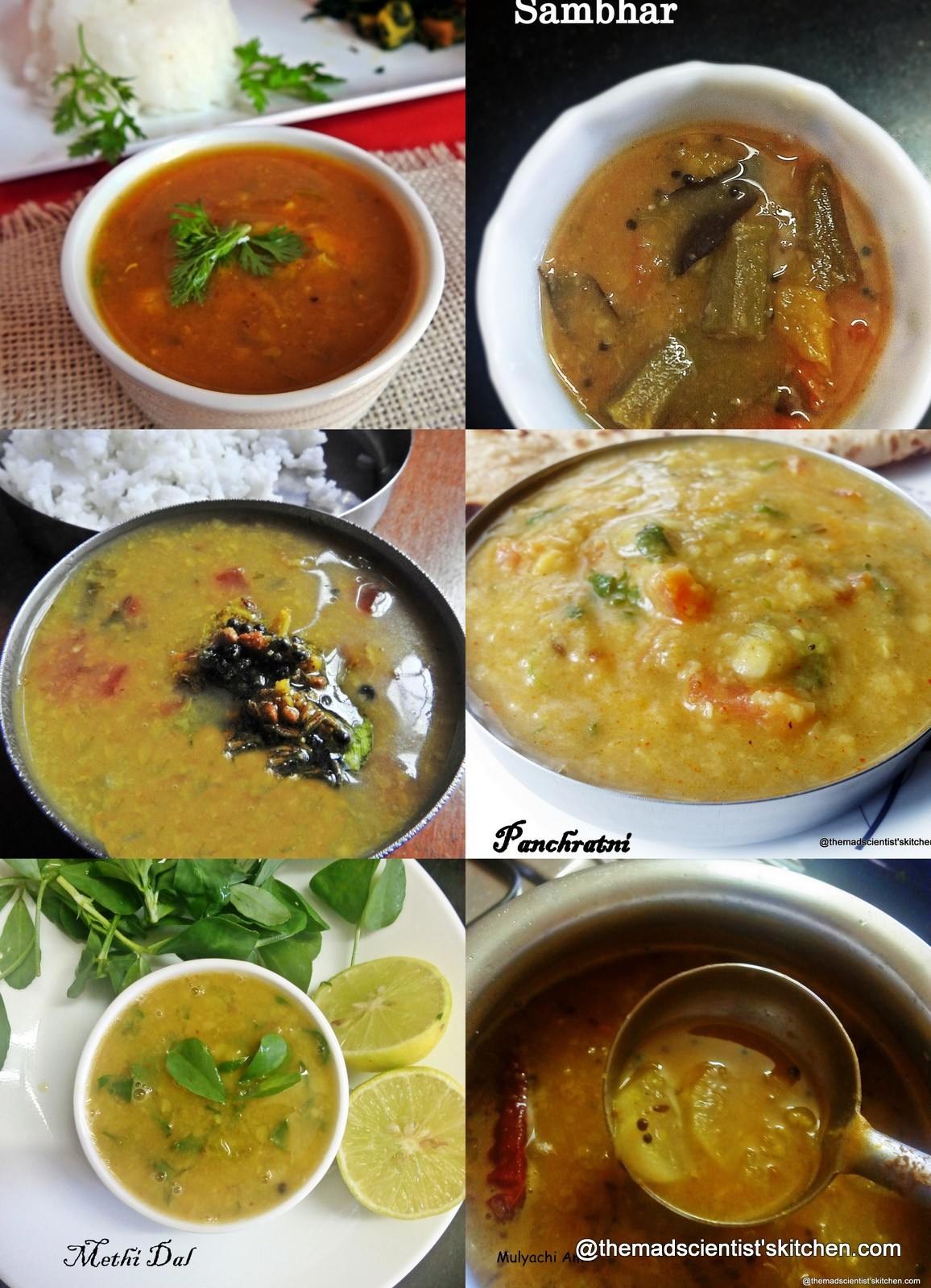 Everyday Dal Recipes| Collection of Dal Recipes