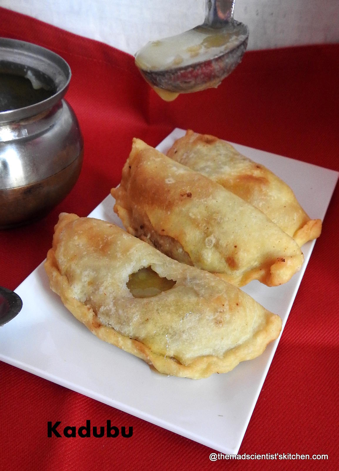 Kari Kadubu, a Deep Fried Delicacy from Karnataka