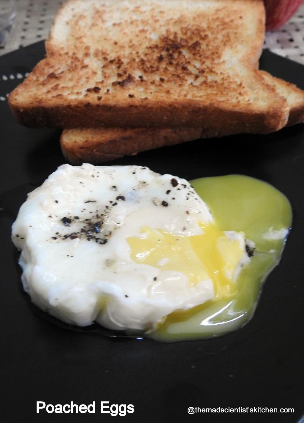 Poached Eggs, How to make Poached Eggs