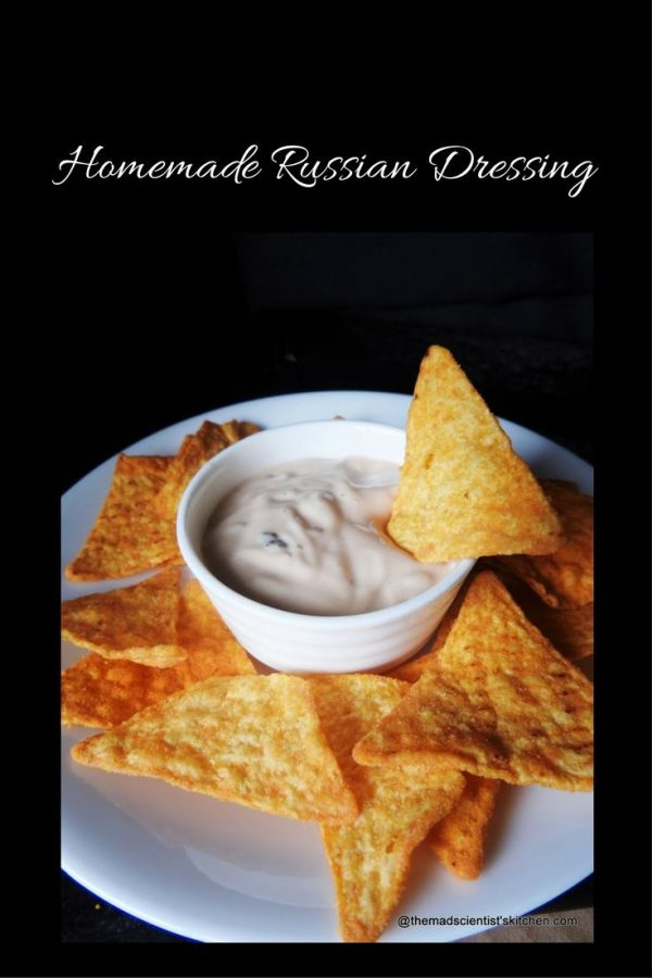 Homemade Russian Dressing, American Cuisine