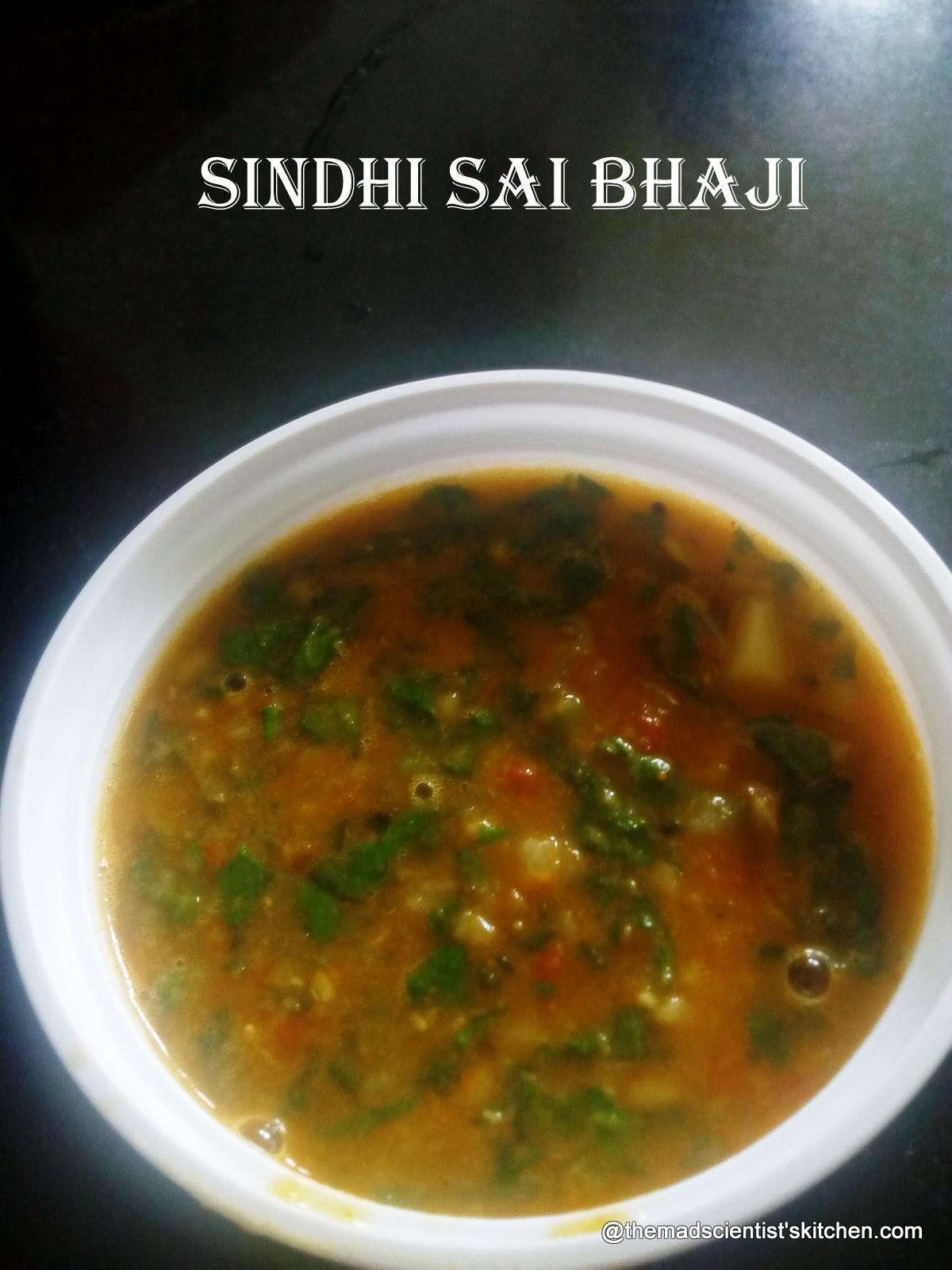 Sai Bhaji|Sindhi Sai Bhaji|Green Leafy Vegetables with Dal