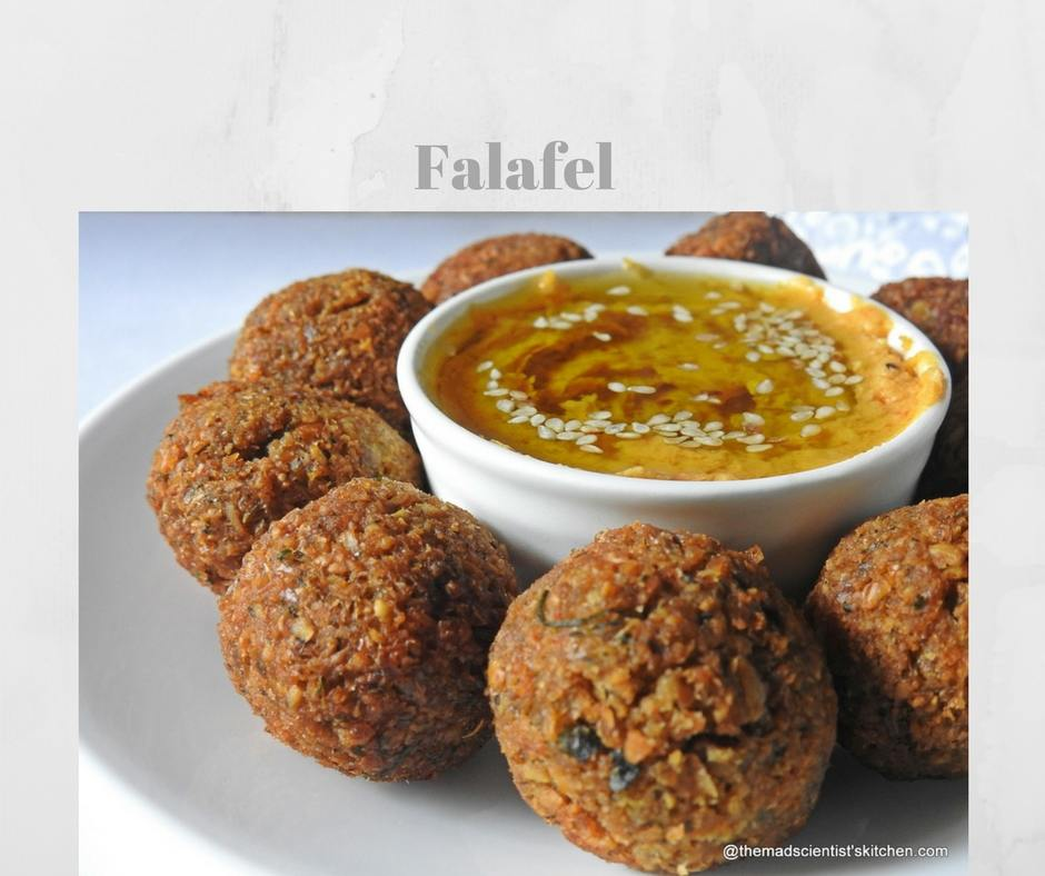 Fried Falafel with Hummus