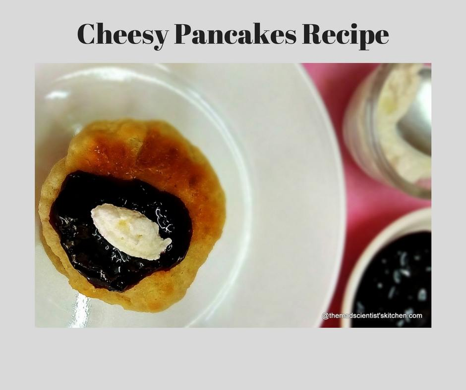Syrniki Recipe, Syrnyky Recipe, Cheesy Pancakes Recipe