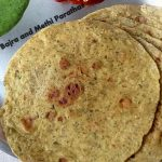 Bajra and Methi Parathas, Pearl Millet and Fresh Fenugreek Leaves Paratha, Pearl Millet Recipe