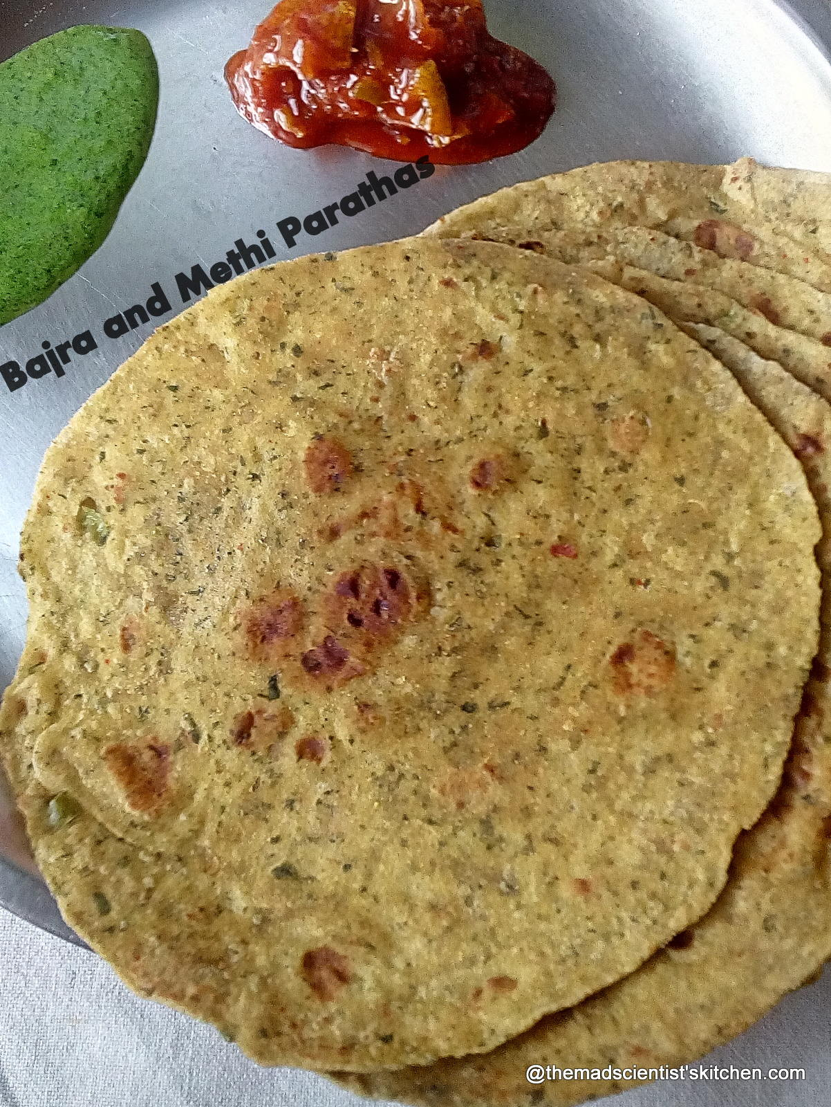 Nutritious Bajra and Methi Parathas|Pearl Millet Recipes|Millet Special