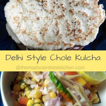 Delhi street food,Home made Kulcha Recipe,Maida ka Kulcha, Naan, Cholay, Dried White peas