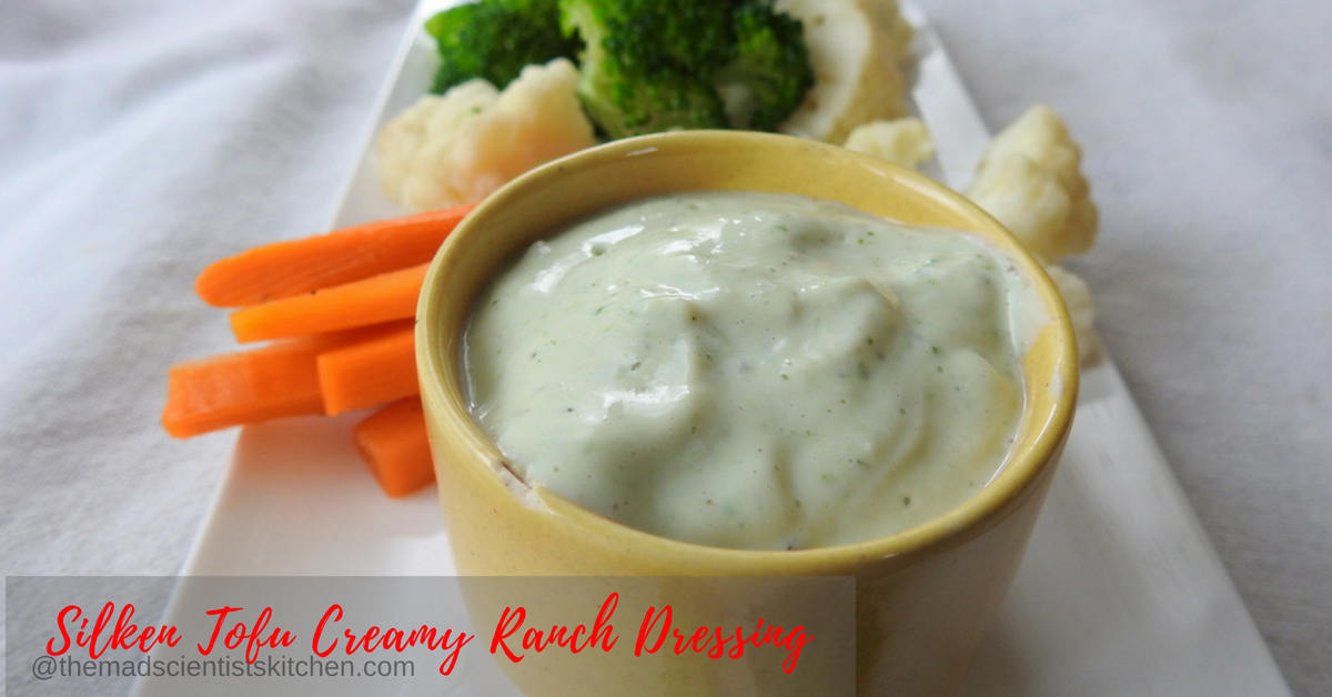 Silken Tofu Creamy Ranch Dressing