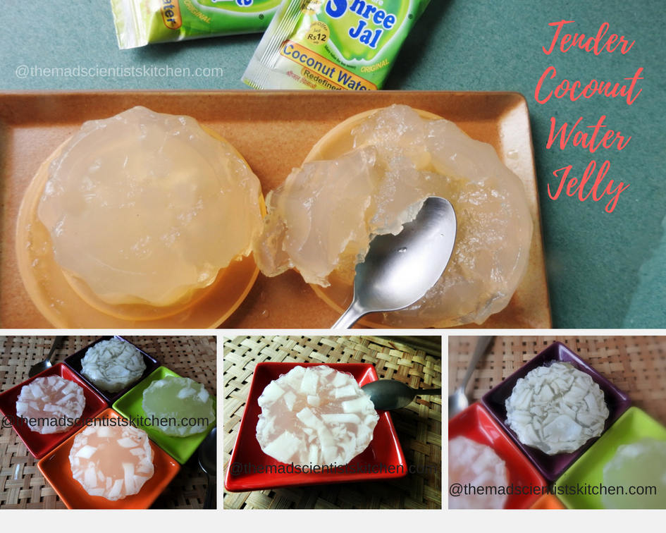 Tender coconut jelly