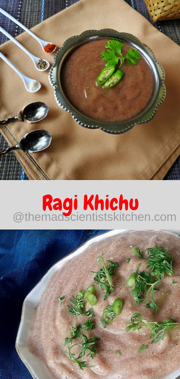 Ragi Khichu| Millet Recipes| Snack Recipes and Guest Post