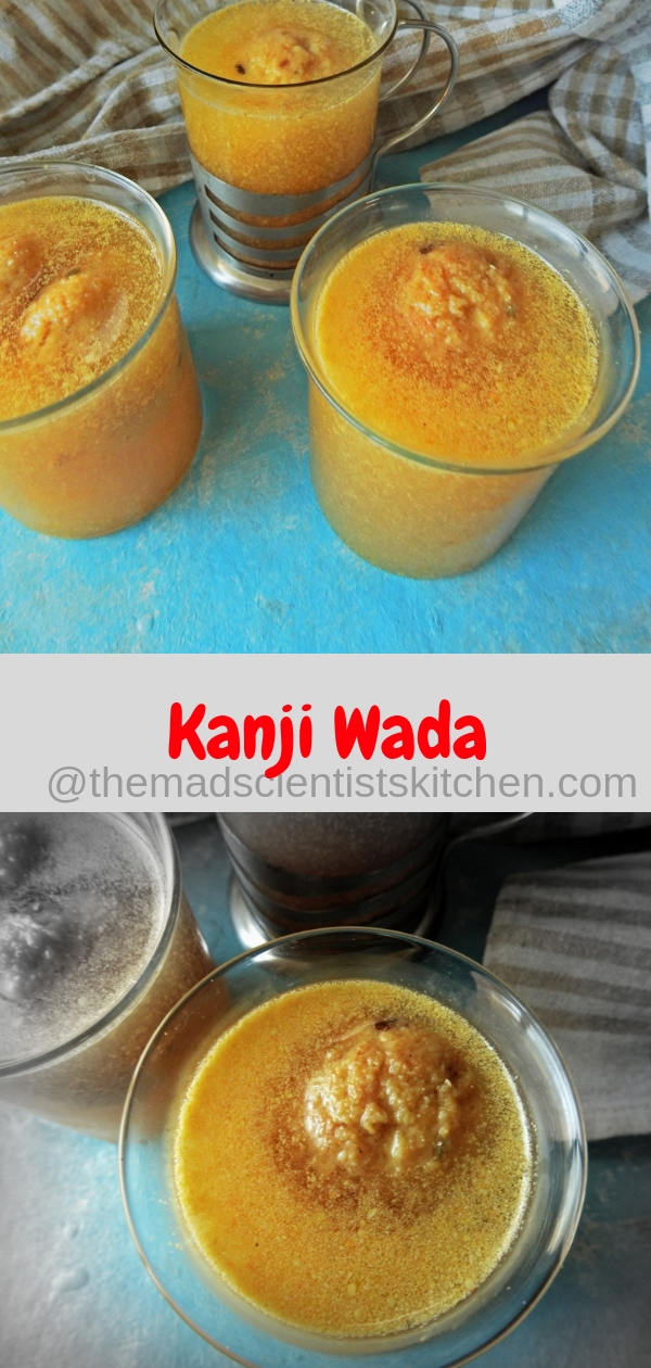 Low Fat Kanji Wada/Vada Recipe from Rajasthan