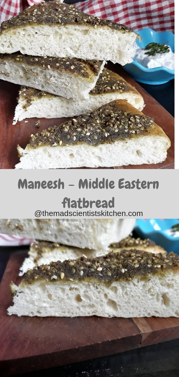 Yeast,Flatbreads, Middle East, Za'ataar topped bread