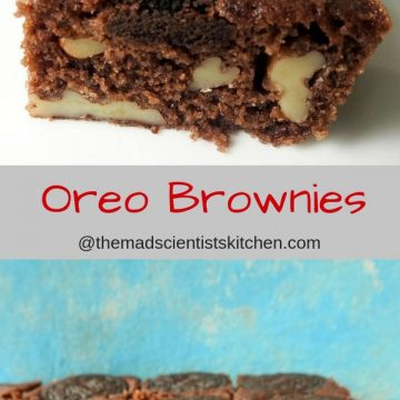 Oreo, Brownies,Microwaveable, Chocolate,