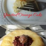 Yeasted Orange Cake,Baked, No leaveners,