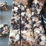 7 layer magic dessert bars, with coconut,