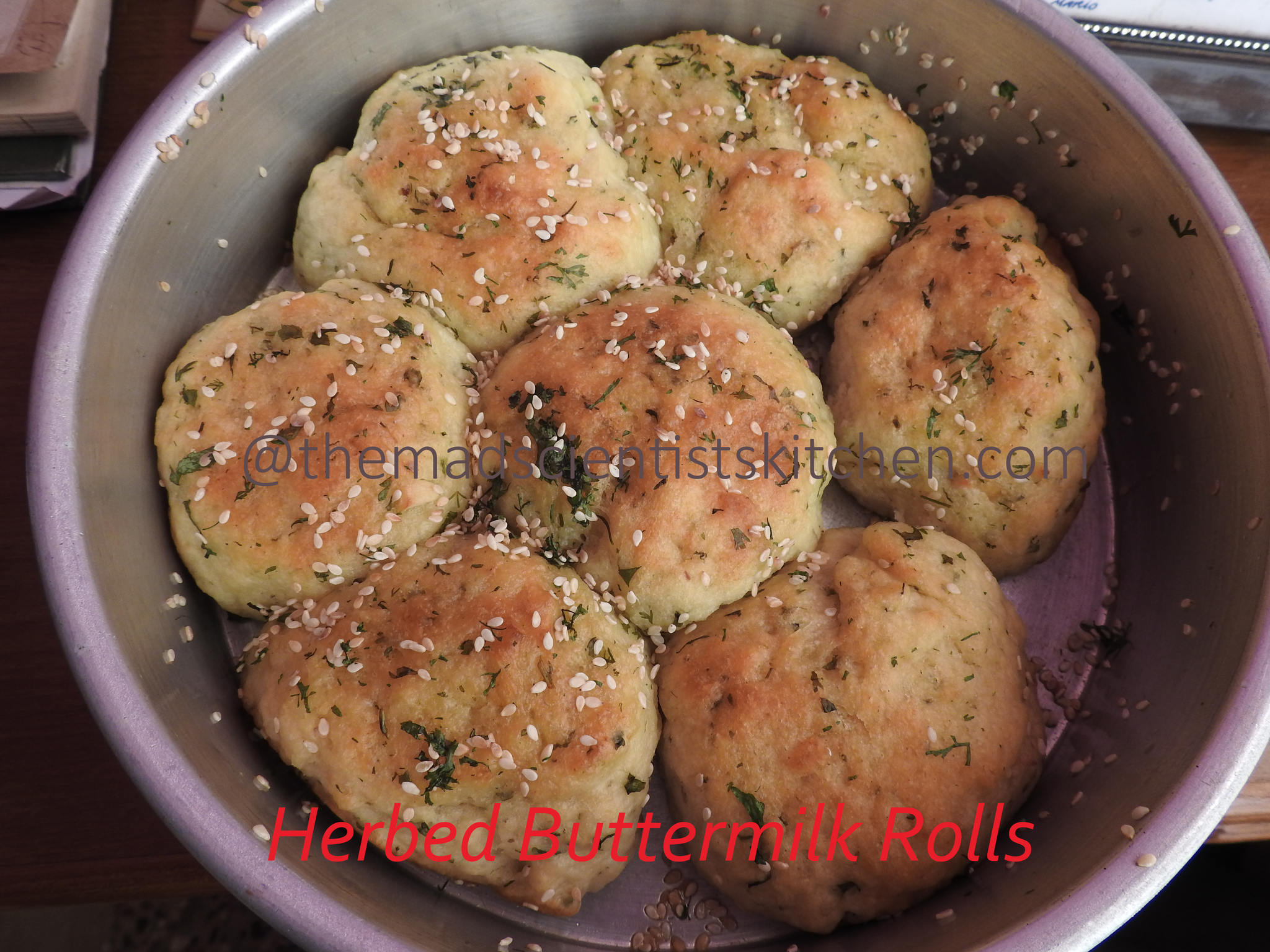Herbed Buttermilk Rolls