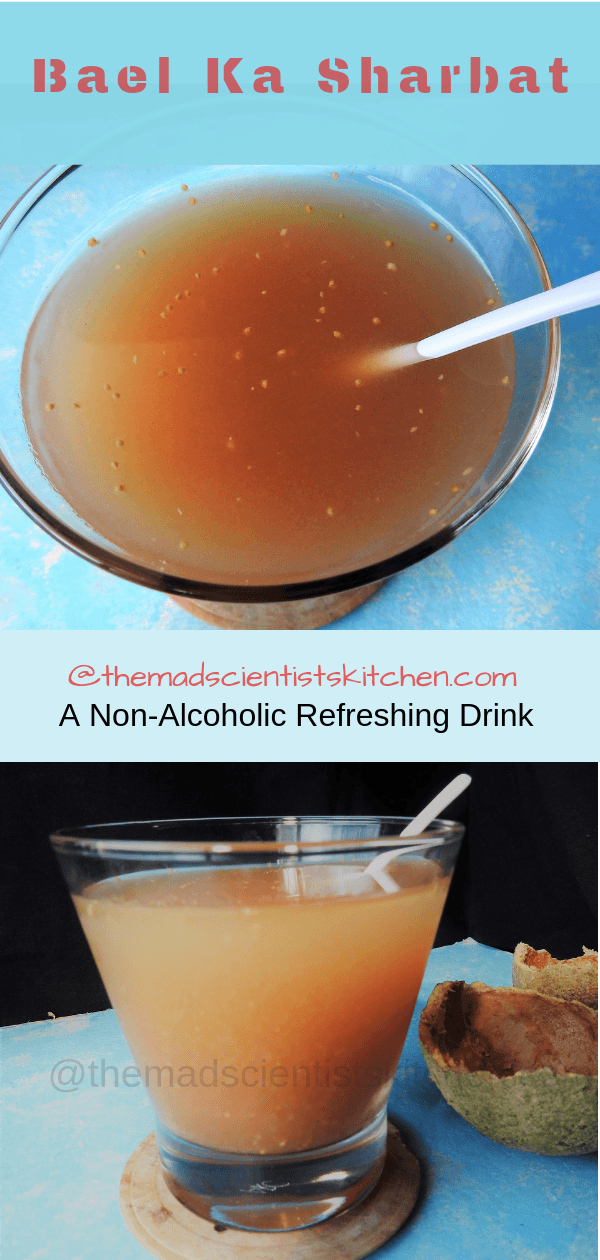 Bael Ka Sharbat,Wood Apple Punch
