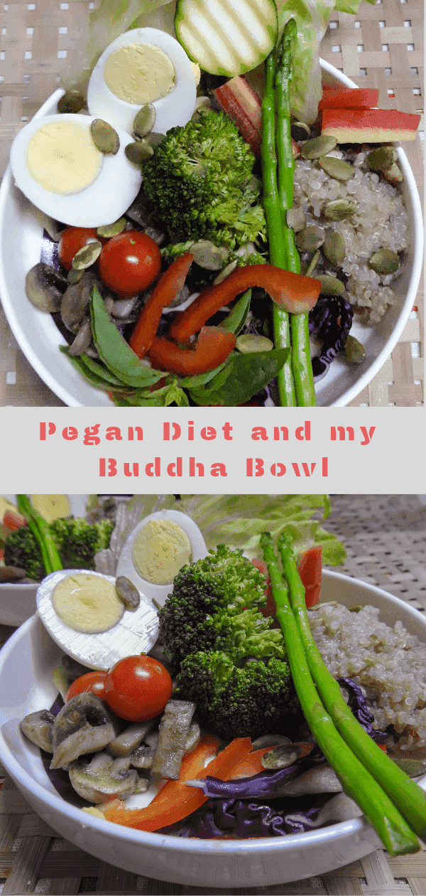 Buddha Bowl and my take on Pegan Diet