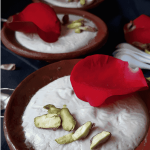 Served in clay pots traditionally Firni is an Indian Dessert