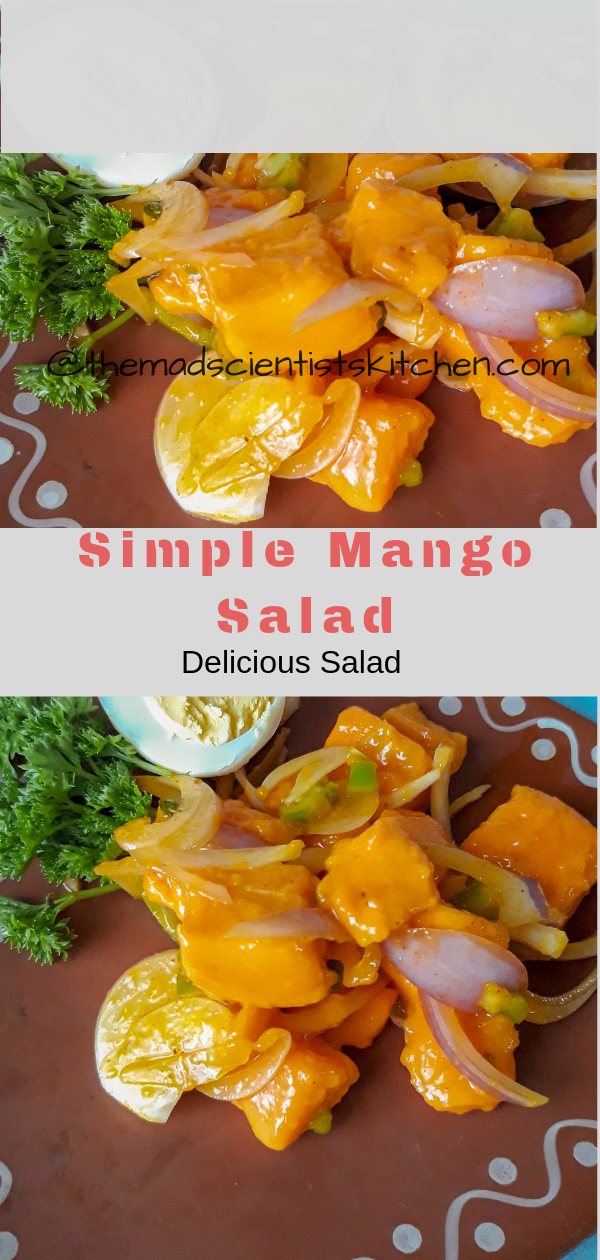 Simple Mango Salad Recipe