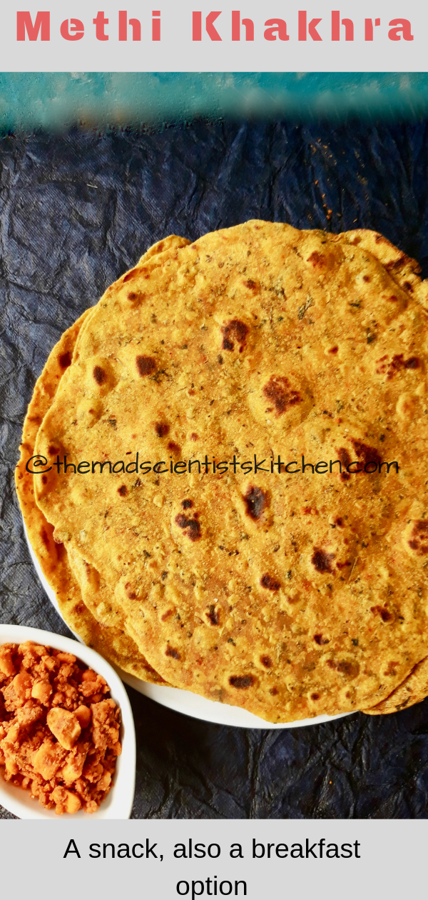 Crisp and delicious these Methi Khakhrajust disappear