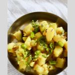 Batat Sukhi Bhaji is a common potato vegetable from Goa